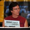 Richard Hatch plays Tom Zarek on Battlestar Galactica