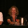 Kate Vernon plays Ellen Tigh on Battlestar Galactica