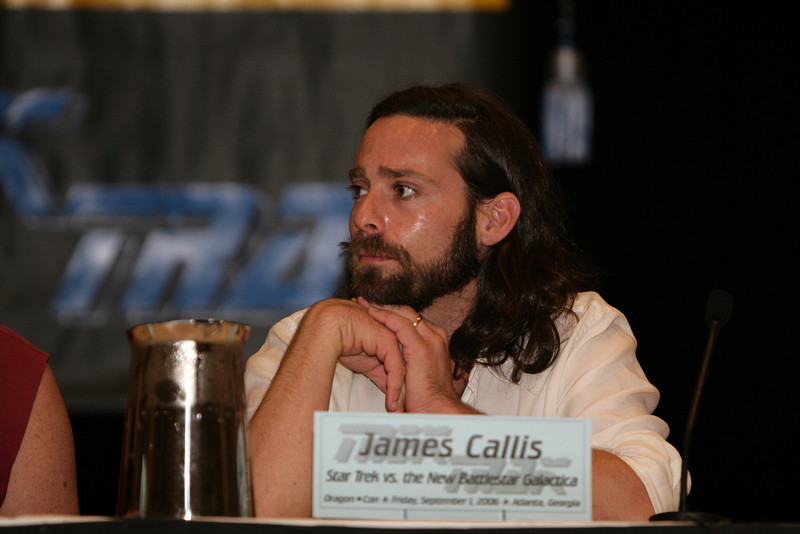 James Callis, Dr. Gaius Baltar on Battlestar Galactica