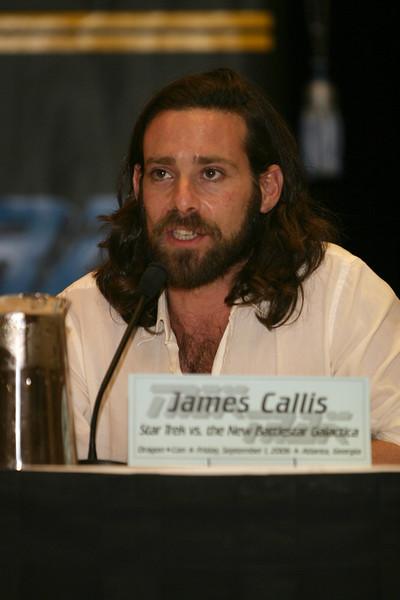 James Callis, Dr. Gaius Baltar on Battlestar Galactica