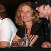 Kate Vernon (Ellen Tigh) and Tahmoh Penikett (Lt. Karl C. 'Helo' Agathon) of Battlestar Galactica