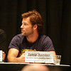 "Jamie Bamber, Major Lee ""Apollo"" Adama at the Star Trek vs. Battlestar Galactica Panel during DragonCon 2007"