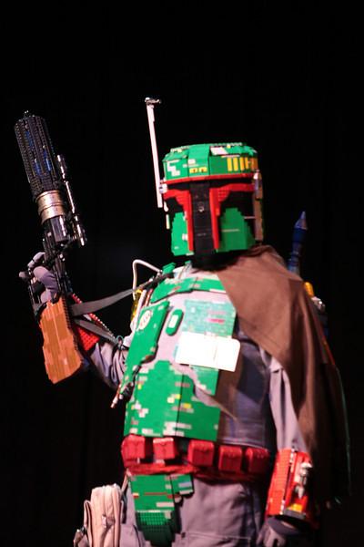 Lego Boba Fett participant in the 2008 DragonCon Costume Contest.