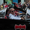 Adam West of the original Batman TV series in the 2008 DragonCon Parade down Peachtree Street.