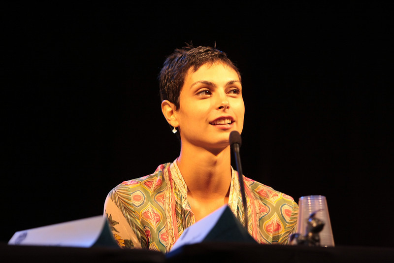 Morena Baccarin plays Adria in Stargate.