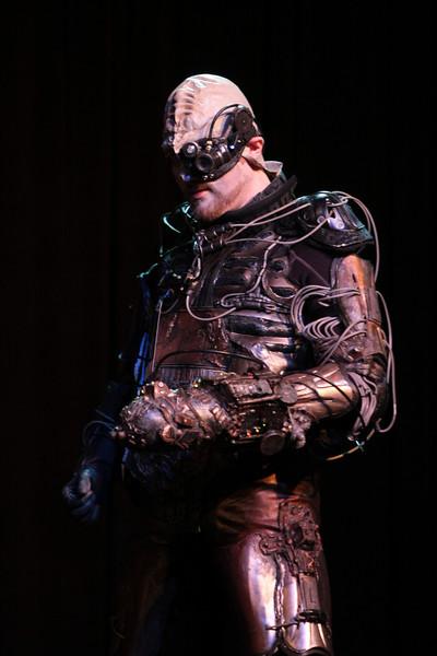 Borg participant in the 2008 DragonCon Costume Contest.