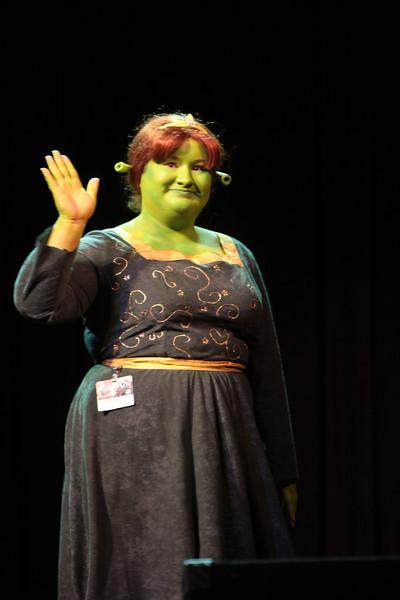 Princess Fiona participant in the 2008 DragonCon Costume Contest.