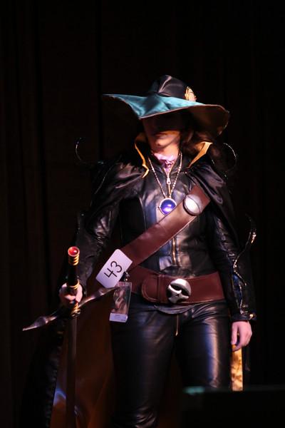 Vampire Hunter D participant in the 2008 DragonCon Costume Contest.