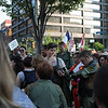 Battlestar Gallactica participant in the 2008 DragonCon Parade down Peachtree Street.