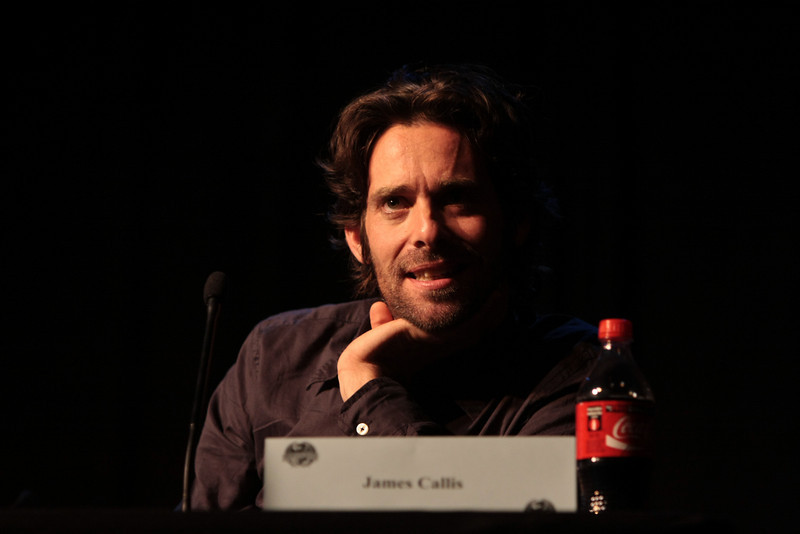 James Callis as Dr. Gaius Baltar in the Sci-Fi channel's series Battlestar Galactica.