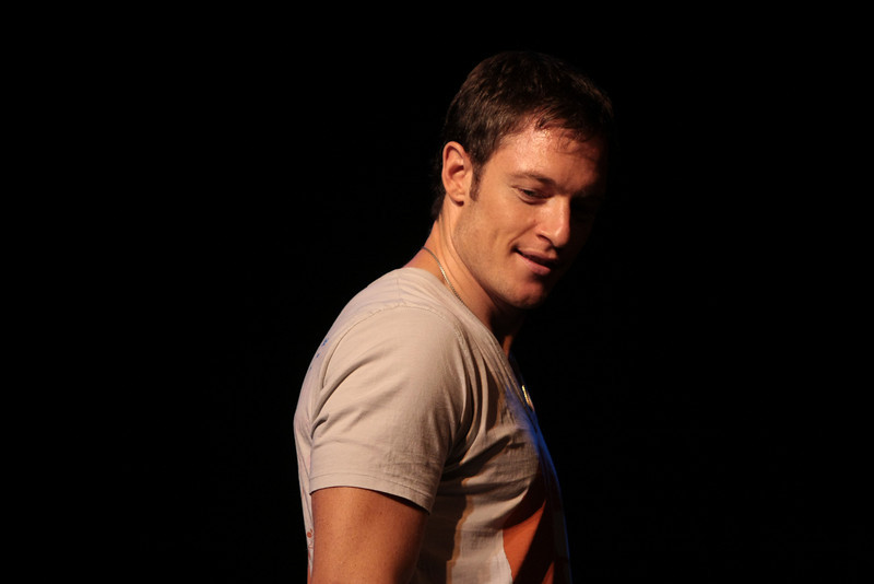 "Tahmoh Penikett stars as Lieutenant Karl ""Helo"" Agathon in the Sci-Fi channel's series Battlestar Galactica."
