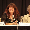 "Sherrilyn Kenyon author of Vampire fiction at the ""Night Bites"" panel."