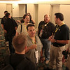 Photography staff prepares to go on a tour of the four hotels where DragonCon is being held.