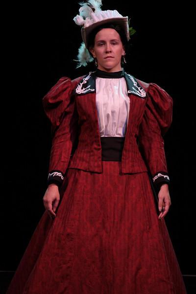 Victorian costumed participant in the 2008 DragonCon Costume Contest.