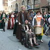 Lord of the Rings participant in the 2008 DragonCon Parade down Peachtree Street.