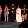 The judges for the 2008 DragonCon Costume Contest