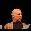 Michael Hogan portrays Colonel Saul Tigh in the Sci-Fi channel's series Battlestar Galactica.