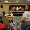 Eliza and Eric Robets talk about The Missing Link: The 1996 Doctor Who Movie at DragonCon 2009