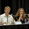 John Schneider and Catherine Bach of the original TV Show Dukes of Hazzard at DragonCon 2009