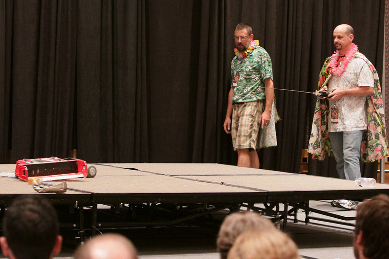 Robot Battles Competition at DragonCon 2009