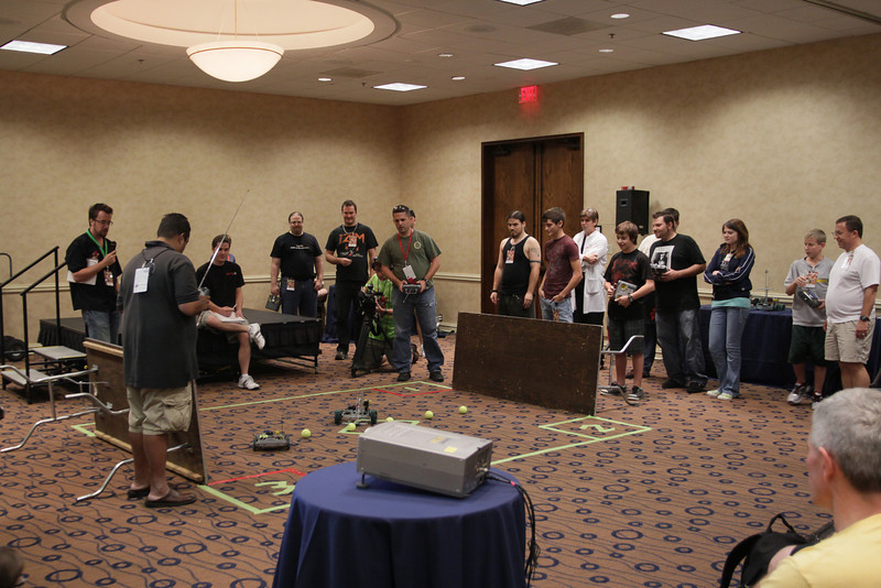 ERAU Robotics Challenge Competition at DragonCon 2009