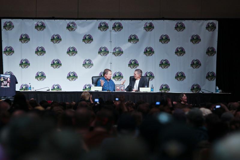 Leonard Nimoy & William Shatner at DragonCon 2009