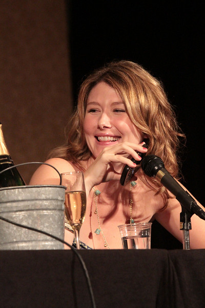 Simon and Kaylee - Reunited! with Jewel Staite at DragonCon 2010