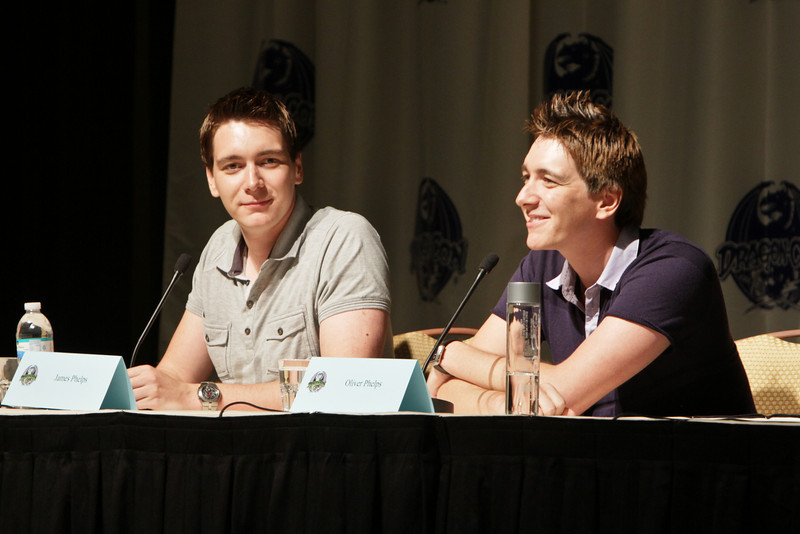 Want Weasley's Wizarding Wheezes? with James and Oliver Phelps at DragonCon 2010