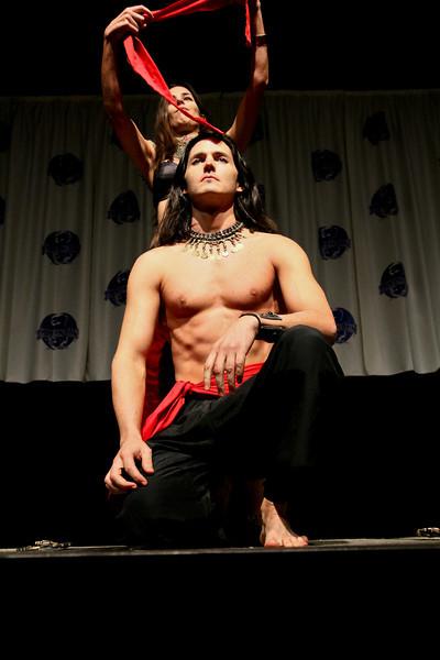 Joshua Harrison in The Masquerade Costume Contest at DragonCon 2010