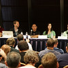 Podcasting Track Kick Off with Brian Ibbot, Tom Merritt, Len Peralta, Veronica Belmont, and P.G. Holyfield at DragonCon 2010