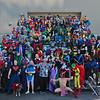 Superhero Costume Photo Shoot at DragonCon 2010