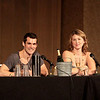 Simon and Kaylee - Reunited! with Jewel Staite and Sean Maher at DragonCon 2010
