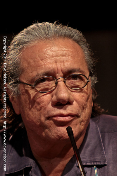 Battlestar Galactica (BSG): Sometimes You Gotta Roll a Hard 6 with Edward James Olmos (Admiral William Adama) at DragonCon 2011