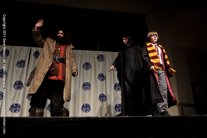 Harry Potter Costumes at the 2011 DragonCon Masquerade Costume Contest