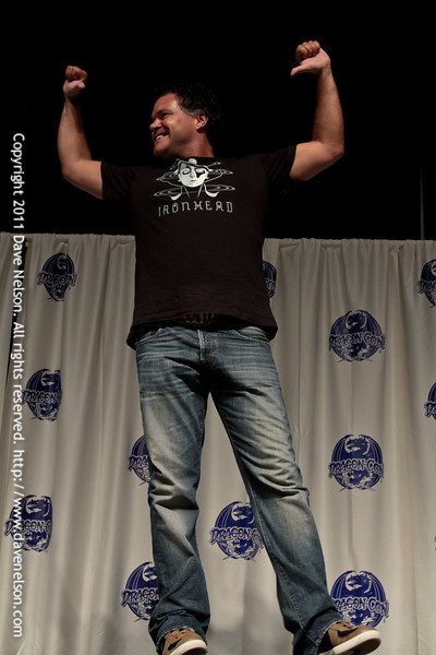 Aaron Douglas at the 2011 DragonCon Masquerade Costume Contest