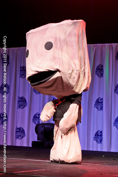 Little Big Planet Costume at Friday Night Costuming Contest at DragonCon 2011