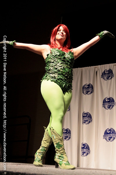 Comic Book Babes Costume Contest with Poison Ivy  at DragonCon 2011