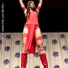Comic Book Babes Costume Contest with Elektra  at DragonCon 2011