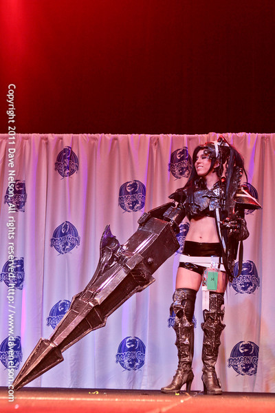 Friday Night Costuming Contest at DragonCon 2011