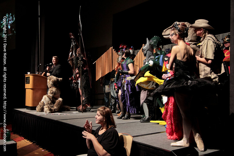 The Winners of the 2011 DragonCon Masquerade Costume Contest