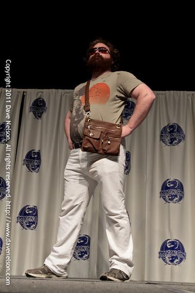 Zach Galifianakis Costume at the 2011 DragonCon Masquerade Costume Contest