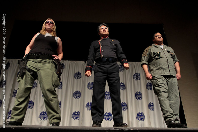 Battlestar Galactica (BSG) Costumes at the 2011 DragonCon Masquerade Costume Contest
