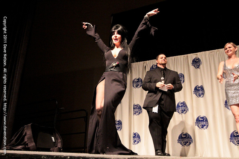 Comic Book Babes Costume Contest with Elvira at DragonCon 2011