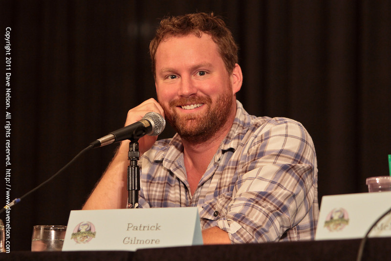 Supergate - Cast of SGU Stargate: Universe with Patrick Gilmore (Dr. Dale Volker) at DragonCon 2011