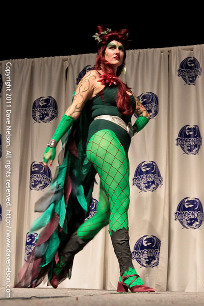 Comic Book Babes Costume Contest at DragonCon 2011