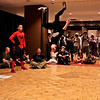 Break Dancing Spidermen at DragonCon 2011