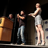 John Lenahan and Aaron Douglas hosting the  2011 DragonCon Masquerade Costume Contest