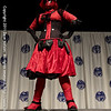 A Female Deadpool Costume at the 2011 DragonCon Masquerade Costume Contest