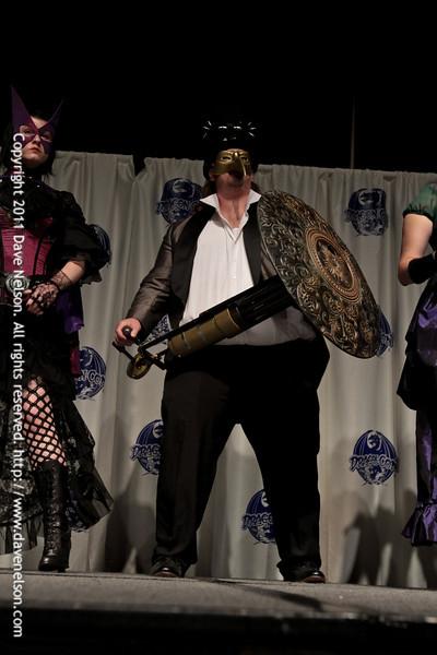 Steampunk Super Hero Costumes at the 2011 DragonCon Masquerade Costume Contest