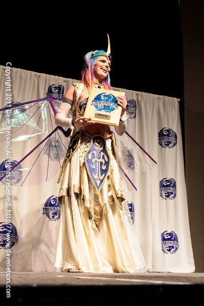 Best in Show at the Comic Book Babes Costume Contest at DragonCon 2011